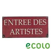 Artistes : ce que dit ECOLO